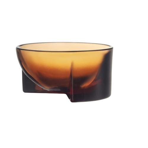 Iittala Kuru klaasist kauss 130x60 mm oranž