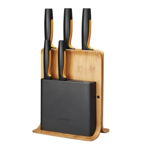 Fiskars FF nugadealus 5 noaga bambus
