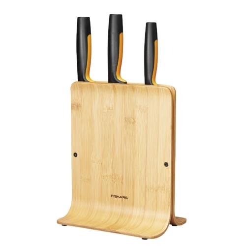 Fiskars FF nugadealus 3 noaga bambus