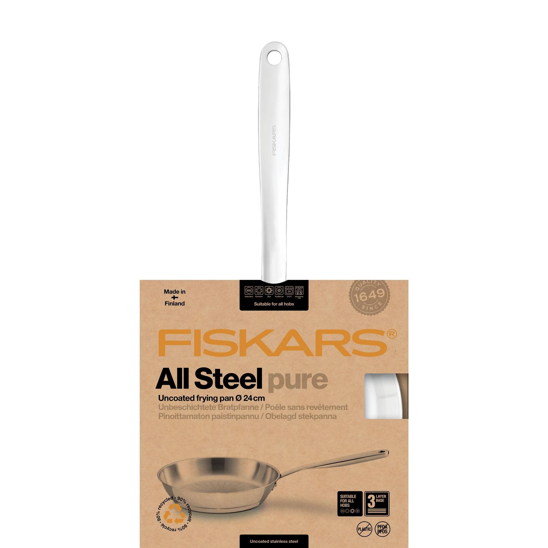 Fiskars All Steel Pure praepann 24cm