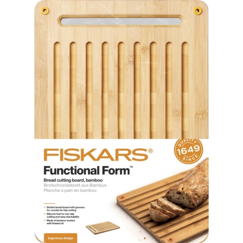 Fiskars FF lõikelaud bambus