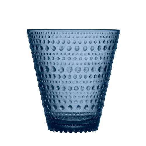 Iittala Kastehelmi joogiklaas 30cl vihmasinine 2tk