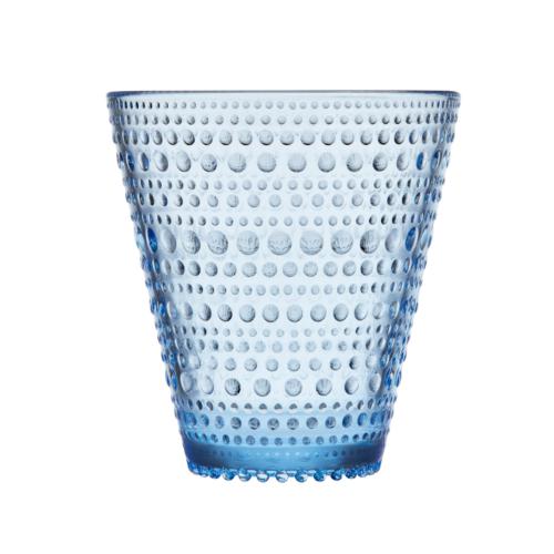 Iittala Kastehelmi joogiklaas 30cl veesinine 2tk